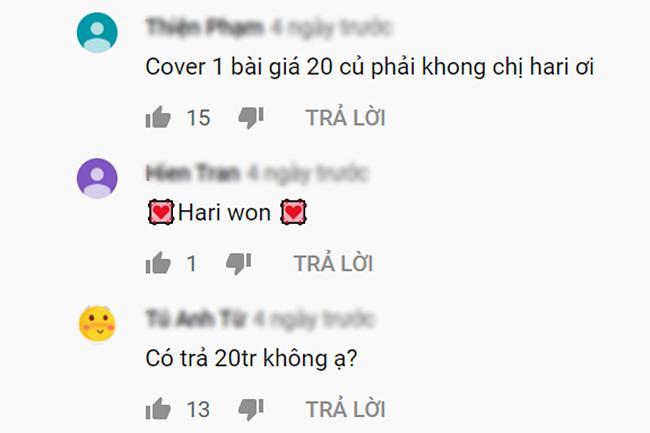 Hari Won bị nghi ngờ phải trả 20 triệu cho Hương Ly để thánh cover đồng ý hát lại bài mới mà vẫn bể kèo-5