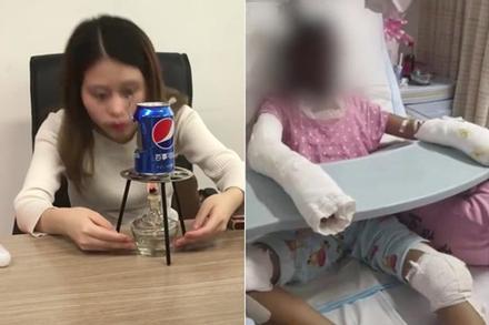 Thánh ăn công sở lần đầu xuất hiện sau vụ một bé tử vong vì bắt chước