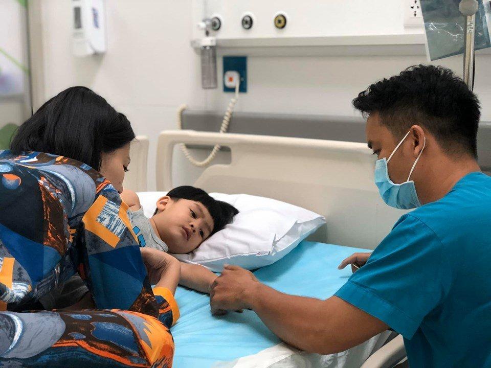 Ngọc Lan một mình vất vả chăm con đau ốm, Thanh Bình có động thái bác bỏ nghi án vô tâm-1