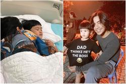 Ngọc Lan một mình vất vả chăm con đau ốm, Thanh Bình có động thái bác bỏ nghi án vô tâm
