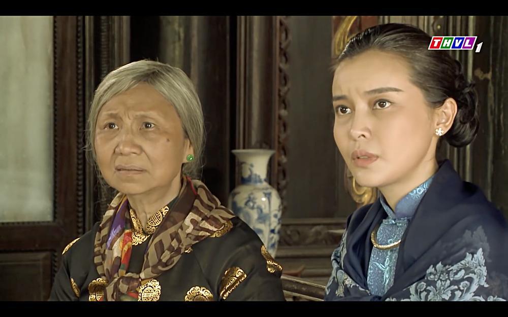 Cao Thái Hà vỗ mặt mẹ chồng chan chát trong tập 35 Tiếng sét trong mưa-4
