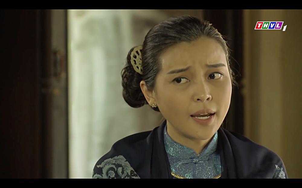 Cao Thái Hà vỗ mặt mẹ chồng chan chát trong tập 35 Tiếng sét trong mưa-5