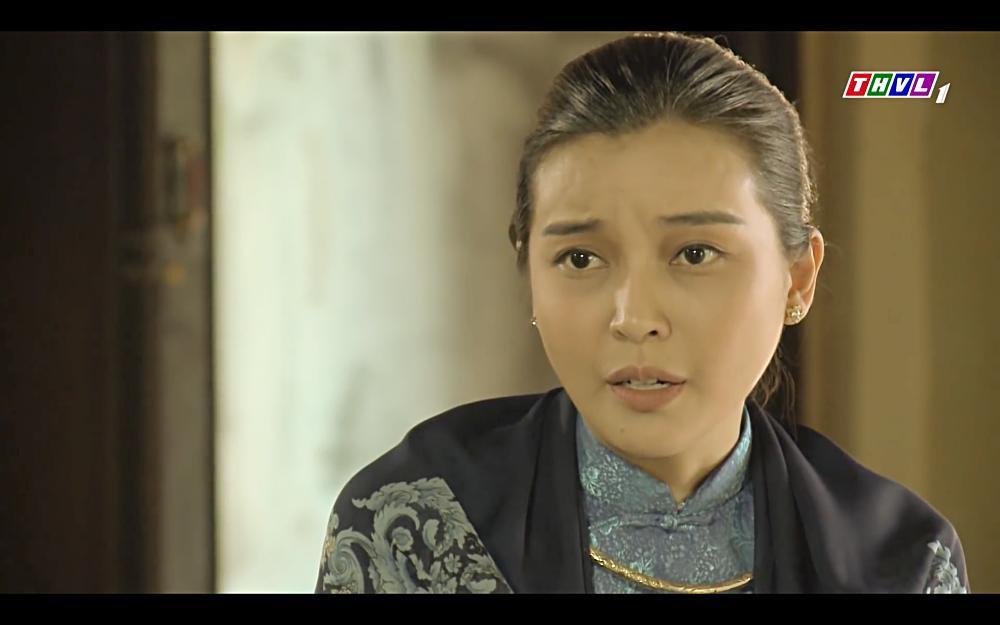 Cao Thái Hà vỗ mặt mẹ chồng chan chát trong tập 35 Tiếng sét trong mưa-2