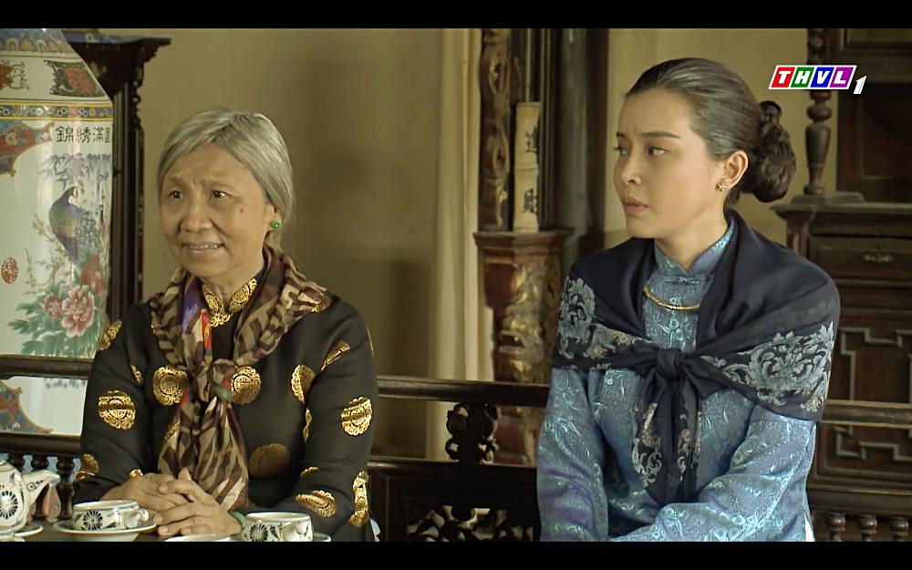 Cao Thái Hà vỗ mặt mẹ chồng chan chát trong tập 35 Tiếng sét trong mưa-6