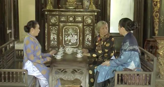 Cao Thái Hà vỗ mặt mẹ chồng chan chát trong tập 35 Tiếng sét trong mưa-10