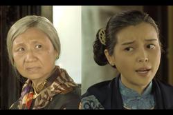 Cao Thái Hà vỗ mặt mẹ chồng chan chát trong tập 35 'Tiếng sét trong mưa'