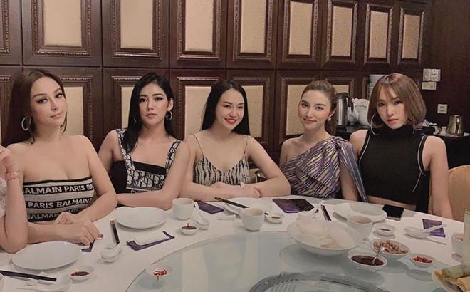 4 nhóm bạn thân gắn bó nhiều năm toàn hot girl đời đầu nổi tiếng-1