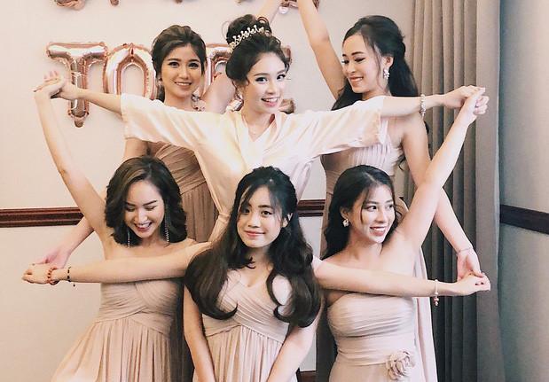 4 nhóm bạn thân gắn bó nhiều năm toàn hot girl đời đầu nổi tiếng-8