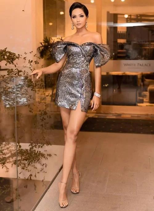 Những bộ váy không thể ngắn hơn của HHen Niê-6