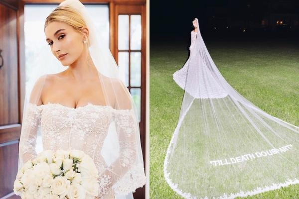 Hailey Bieber đi giày thể thao khiêu vũ cùng chồng trong lễ cưới-2