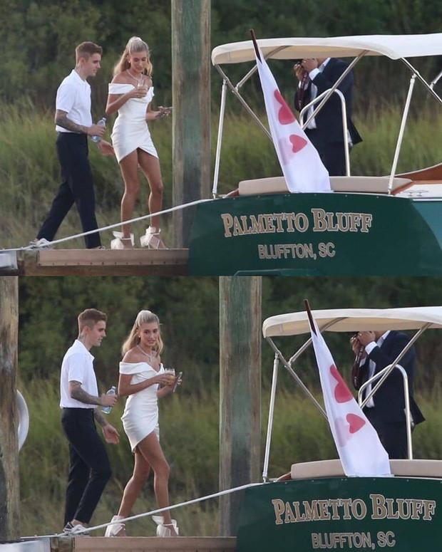Hailey Bieber đi giày thể thao khiêu vũ cùng chồng trong lễ cưới-5