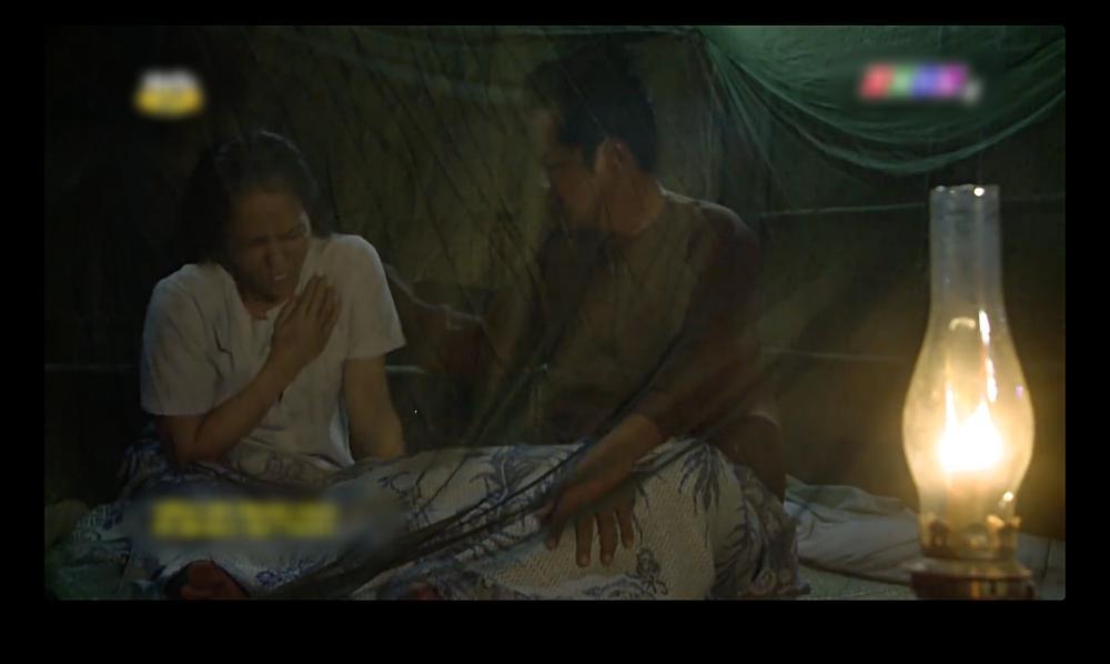 Cảnh nóng oan nghiệt của anh em cùng cha khác mẹ trong tập 36 Tiếng sét trong mưa-9
