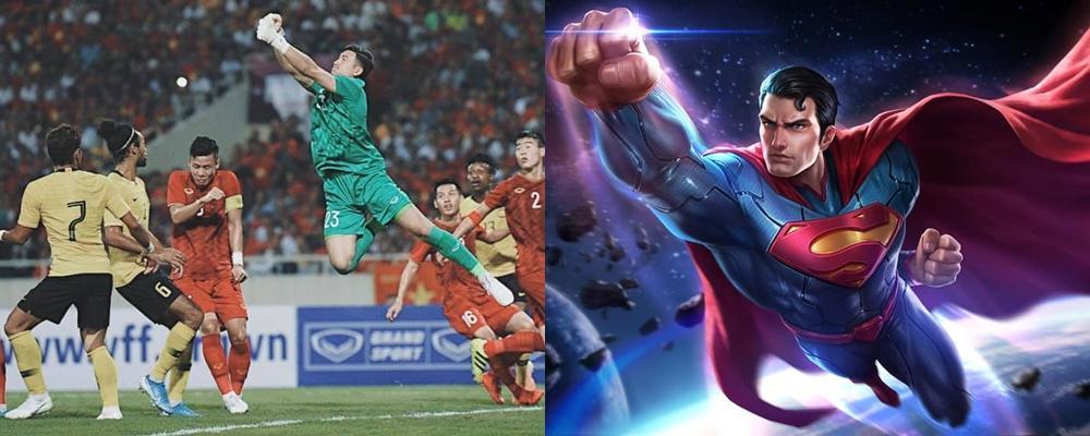 Sau khi giúp Việt Nam giữ sạch lưới trước Malaysia, Đặng Văn Lâm khoe làm supermen giải cứu thế giới-1
