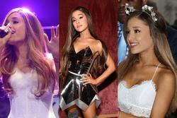 Dụi mắt không nhận ra Ariana Grande 'bánh bèo nhập' khi không buộc tóc đuôi ngựa