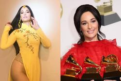 Nữ ca sĩ người Mỹ mặc áo dài không quần từng thắng 6 giải Grammy