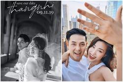 Đông Nhi tung ảnh cưới lãng mạn, chính thức hé lộ ngày lên xe hoa với Ông Cao Thắng