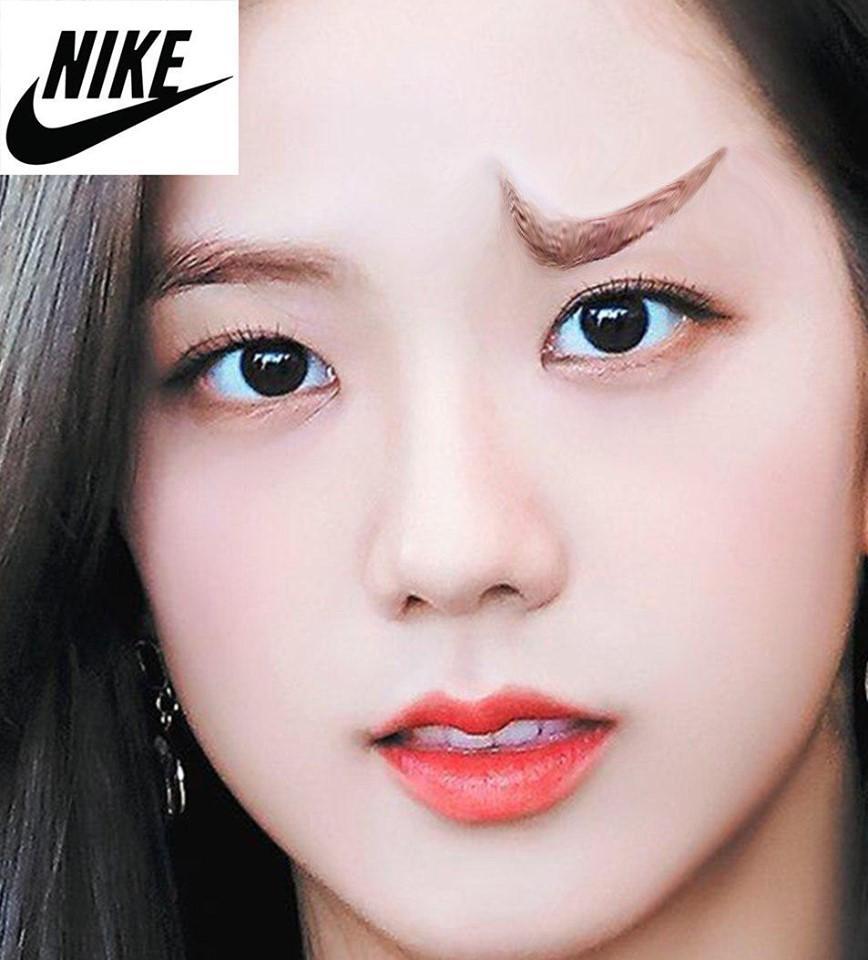 Fan lấy Jisoo BlackPink làm đối tượng thí nghiệm những kiểu lông mày siêu dị-3