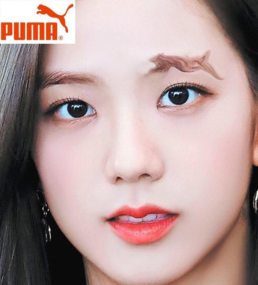 Fan lấy Jisoo BlackPink làm đối tượng thí nghiệm những kiểu lông mày siêu dị-4