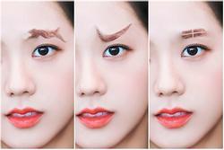 Fan lấy Jisoo BlackPink làm 'đối tượng thí nghiệm' những kiểu lông mày siêu dị