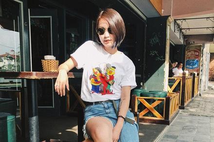 Mi Vân có style trẻ trung, được khen khi diện bikini khoe dáng sexy