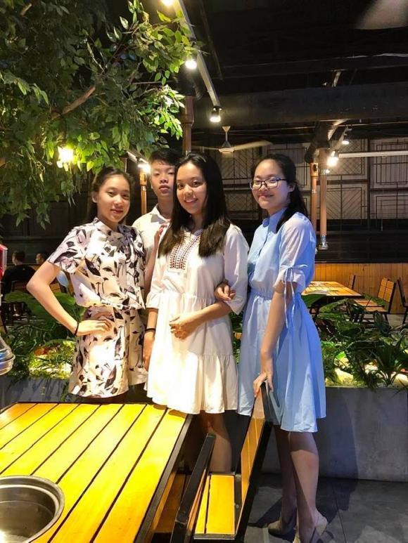 Nghệ sĩ Đức Hải tổ chức sinh nhật cho con gái lớn, đáng chú ý là vẻ ngoài phổng phao của cặp sinh ba-5