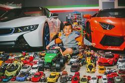 Cậu bé người Việt sở hữu 7.000 'siêu xe' gần tỷ đồng