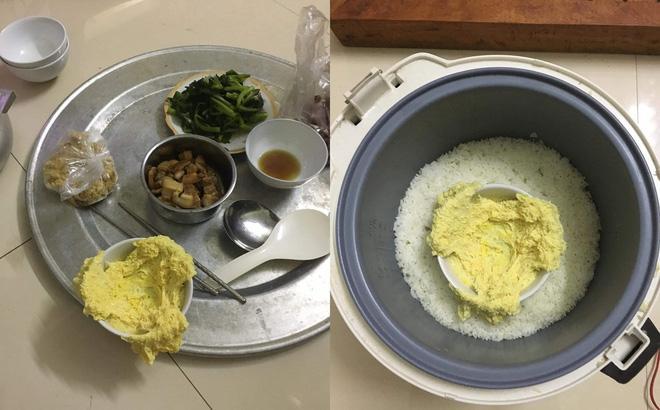 Đi làm về háo hức chờ ăn cơm vợ nấu, vừa mở nồi chồng đã hết hồn vì món hấp bên trong-1
