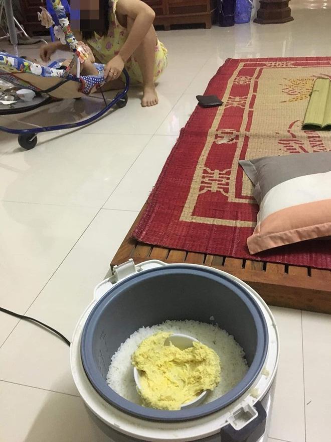 Đi làm về háo hức chờ ăn cơm vợ nấu, vừa mở nồi chồng đã hết hồn vì món hấp bên trong-3