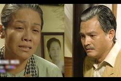 Nhật Kim Anh khóc cạn nước mắt khi thấy bài vị mình trên bàn thờ trong tập 37 'Tiếng Sét Trong Mưa'