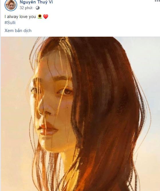 Dàn hotface Việt từ không tin đến sốc tột cùng khi nghe hung tin Sulli treo cổ tự tử ở tuổi 25-3