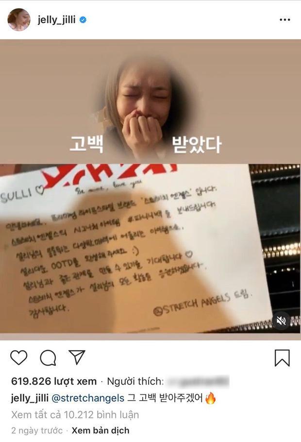 Dấu hiệu lạ trong bài đăng cuối cùng trên Instagram của Sulli: Nhan sắc mỹ miều như đang khóc!-2