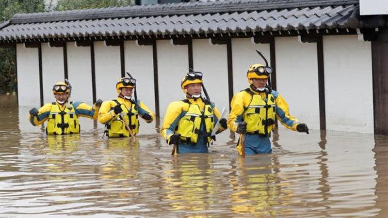 Cảnh tàn phá khủng khiếp siêu bão tím bầm trời gây ra ở Nhật-6