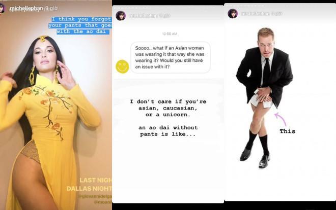Phù thủy make-up gốc Việt Michelle Phan lên tiếng vụ ca sĩ Mỹ mặc áo dài không quần-2