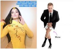 Phù thủy make-up gốc Việt Michelle Phan lên tiếng vụ ca sĩ Mỹ mặc áo dài không quần
