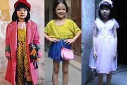 Bé gái vô gia cư ở Hà Nội với màn phối quần áo cũ cực chất sắp được trở thành người mẫu