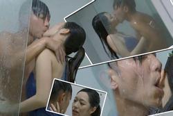Hoa hậu Hong Kong gây sốc khi diễn cảnh tắm táo bạo trên truyền hình