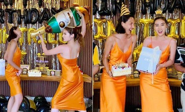Kỳ Duyên - Minh Triệu tình tứ diện váy đôi rồi cùng nhau đập hộp iPhone tà tữa-12
