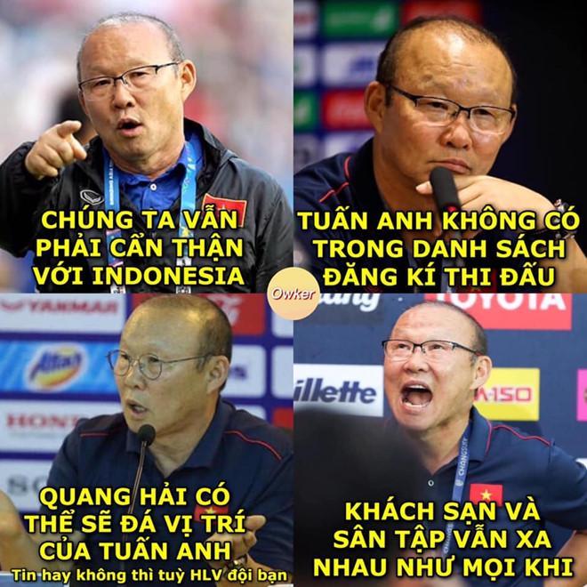 Ảnh chế tuyển Việt Nam quyết tâm trả món nợ 3 năm trước với Indonesia-2