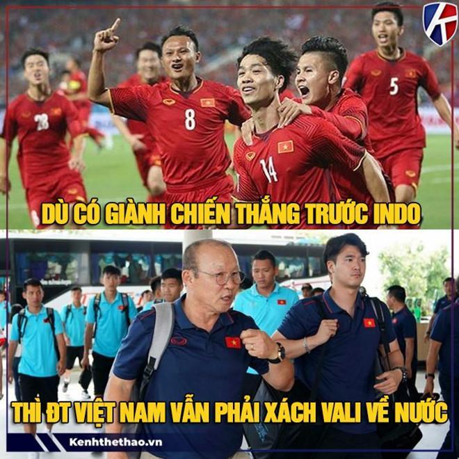 Ảnh chế tuyển Việt Nam quyết tâm trả món nợ 3 năm trước với Indonesia-6