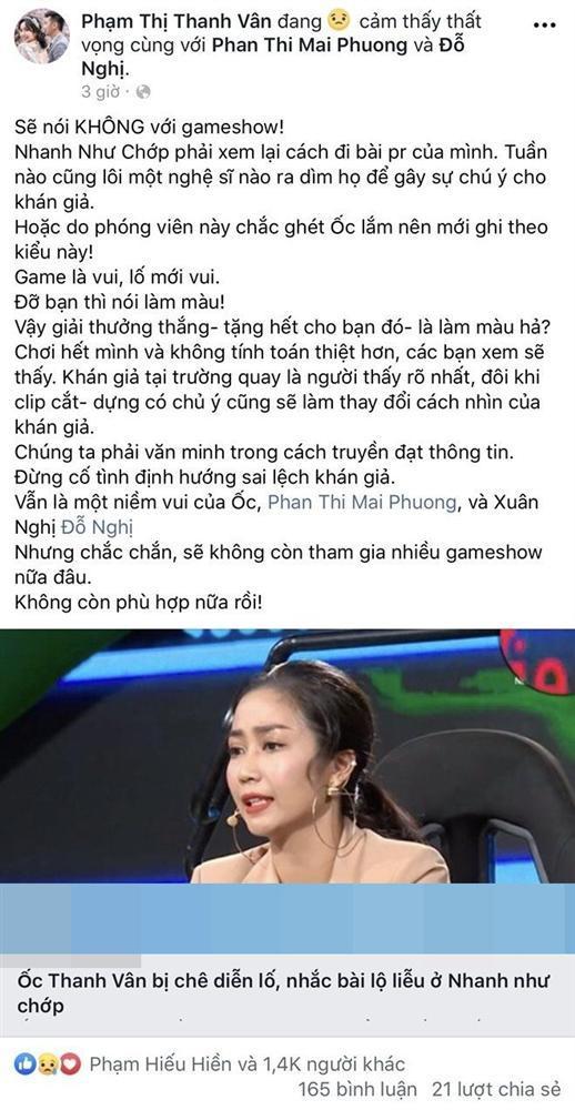 Đồng loạt nghệ sĩ Việt công khai tuyên bố tuyệt giao với gameshow-1