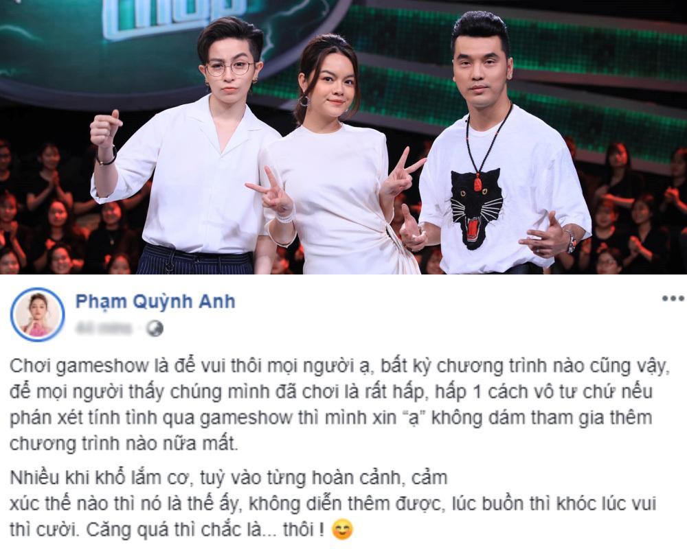Đồng loạt nghệ sĩ Việt công khai tuyên bố tuyệt giao với gameshow-7