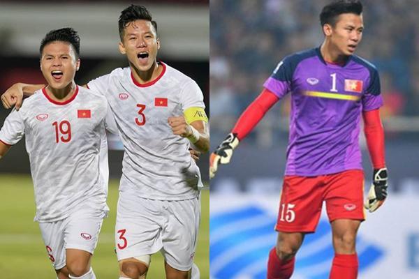 Góp 1 bàn thắng, ảnh Hải Quế làm thủ môn bất đắc dĩ trận gặp Indonesia 3 năm trước được khai quật lại-1