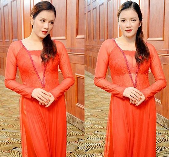 Các sao Việt từng bị chỉ trích vì mặc áo dài phản cảm-5
