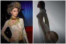 Các sao Việt từng bị chỉ trích vì mặc áo dài phản cảm