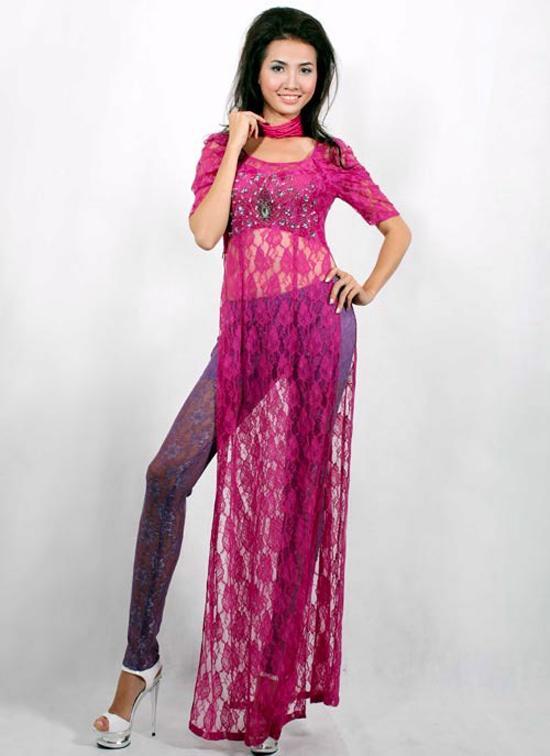 Các sao Việt từng bị chỉ trích vì mặc áo dài phản cảm-2