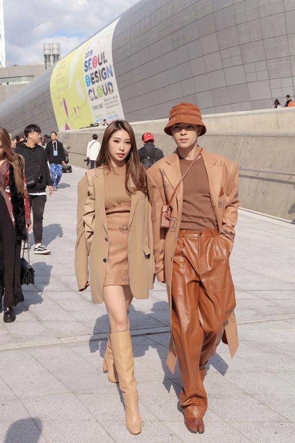Sau khi chia tay Ngô Kiến Huy, Khổng Tú Quỳnh tái xuất chất lừ ở Seoul Fashion Week 2019-1