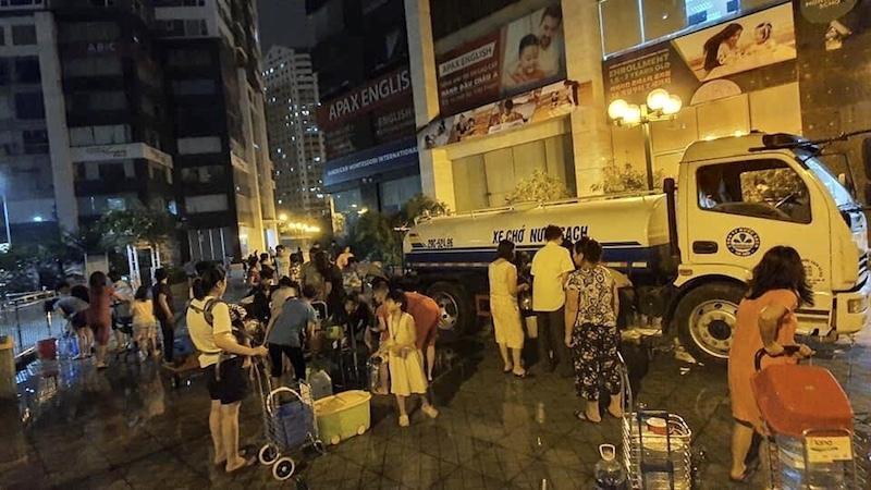 Khoanh vùng khu vực Hà Nội khuyến cáo không dùng nước sạch sông Đà ăn uống-2