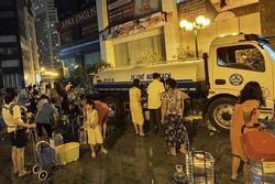 Khoanh vùng khu vực Hà Nội khuyến cáo không dùng nước sạch sông Đà ăn uống