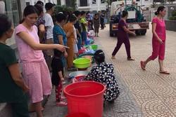 Hơn 2.000 cuộc gọi cầu cứu ngày đêm xin tiếp nước giữa Thủ đô