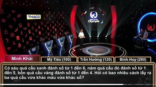 Tranh luận việc thí sinh Olympia chỉ có 20 giây giải câu hỏi toán-3
